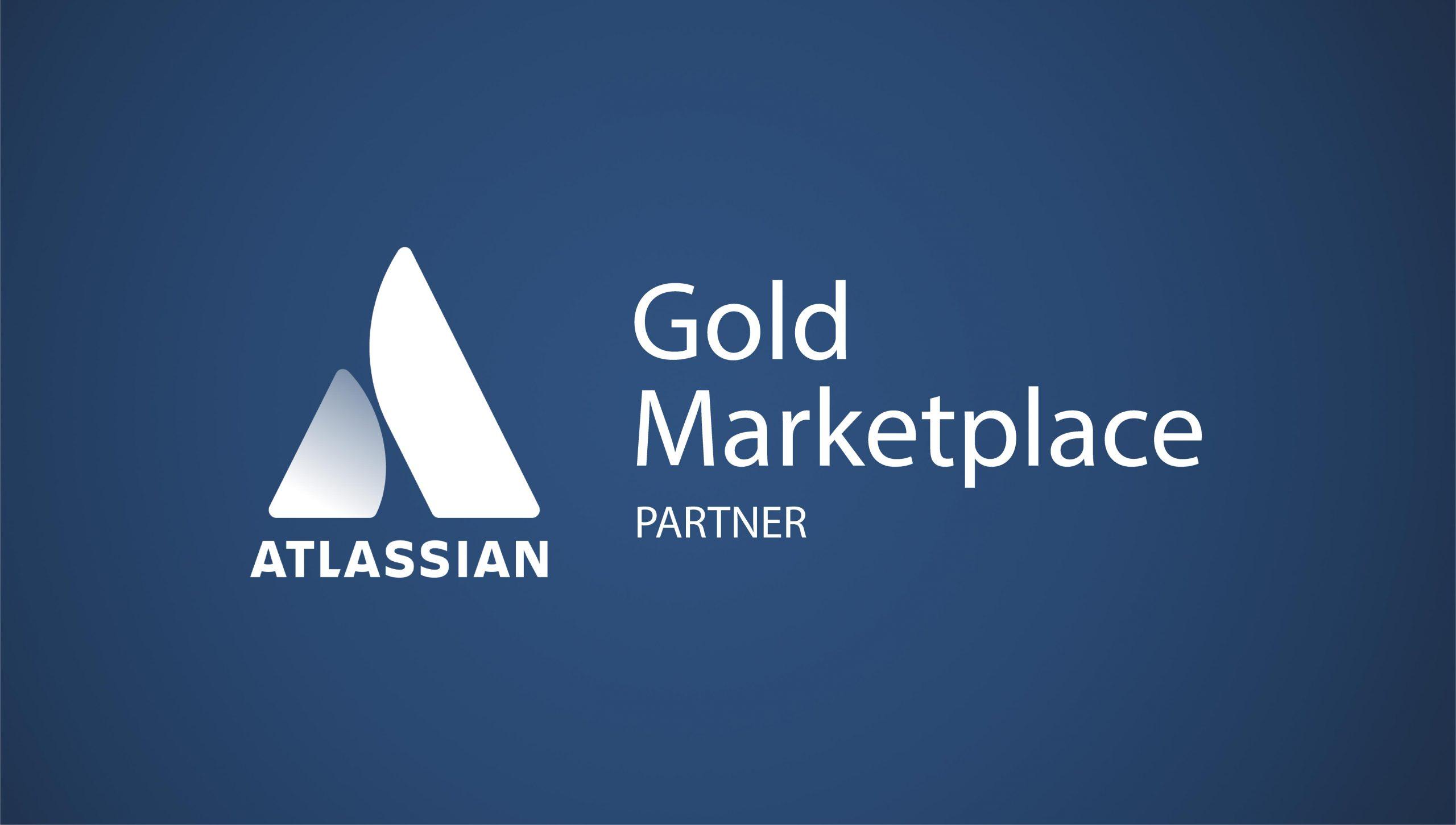 Dark blue background with Gold Marketplace Partner bage